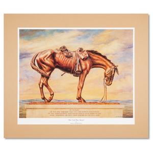 War Horse Matted Print, Large